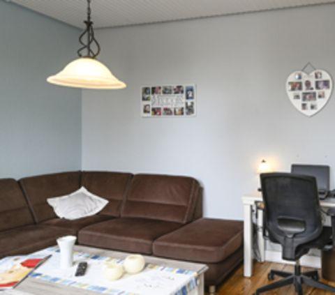 das Wohnzimmer im Wohnhaus in der Predöhlstrasse