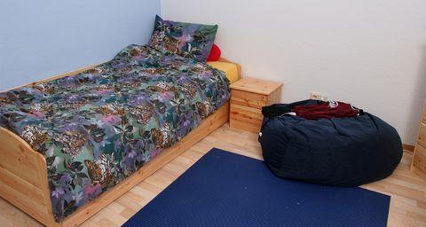 Einrichtung eines Kurzzeitzimmers