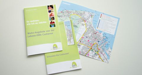 Broschüren der Lebenshilfe Cuxhaven
